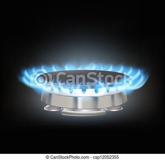 kitchen gas burner - csp12052355