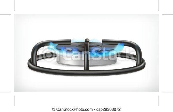 Kitchen gas stove - csp29303872