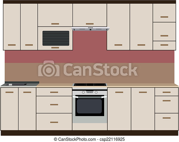 Kitchen - csp22116925