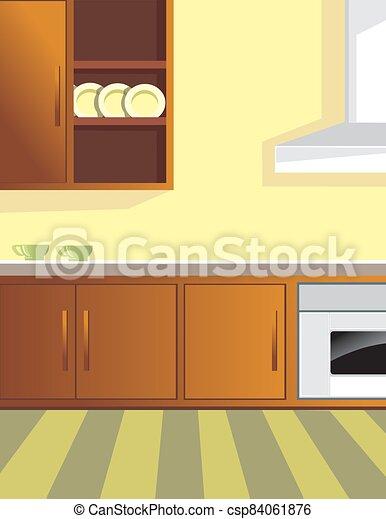 Kitchen - csp84061876