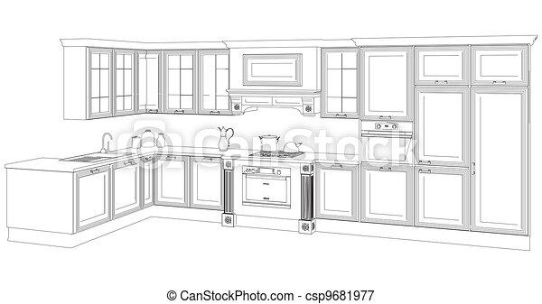 Kitchen - csp9681977