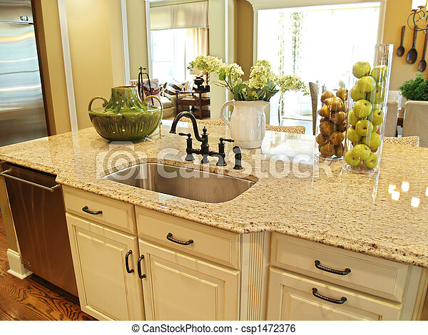 Kitchen Island - csp1472376