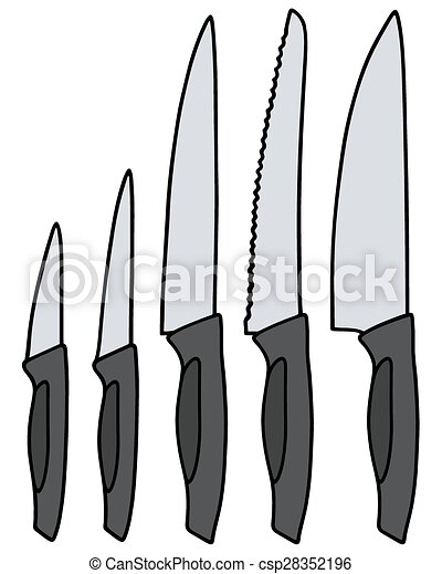 Kitchen Knives   Csp28352196