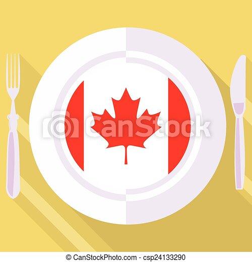 kitchen of Canada - csp24133290