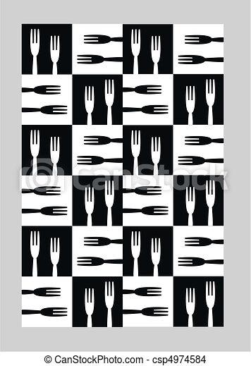 Kitchen pattern csp4974584