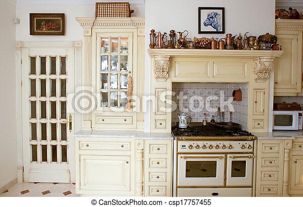 Kitchen - csp17757455