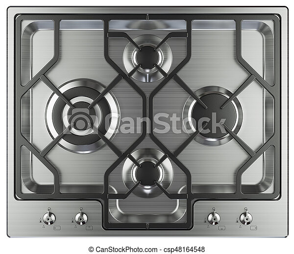 Kitchen Stove Top View   Csp48164548