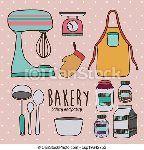 Kitchen Supplies Illustrations And Clipart 6 472 Kitchen