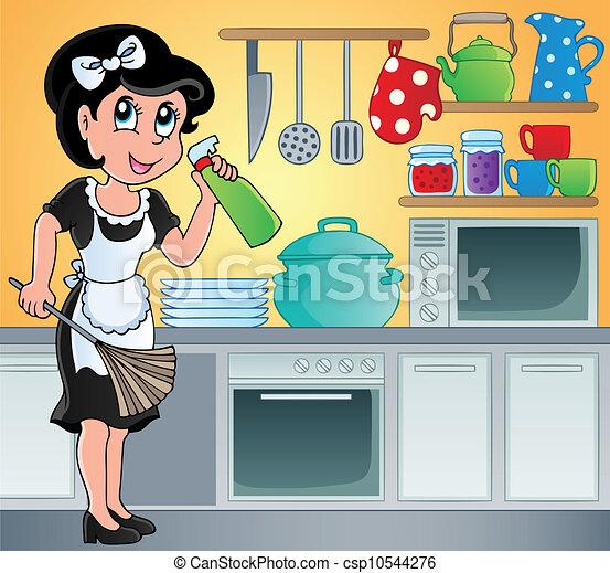 Kitchen theme image 7 - csp10544276