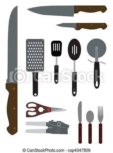 Kitchenware Illustration - csp4347809