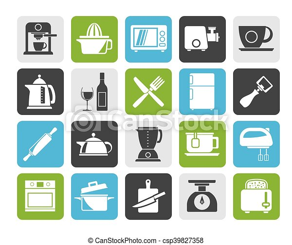 Kitchenware objects icons - csp39827358