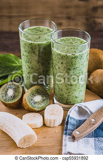 shake detox de morango