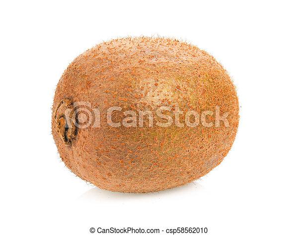 kiwi fruit on white background - csp58562010