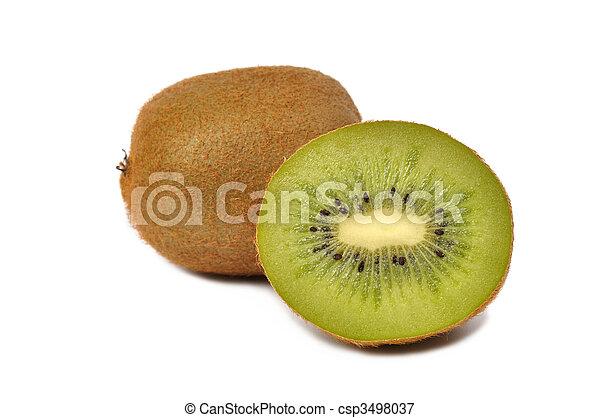 Kiwi Fruits - csp3498037