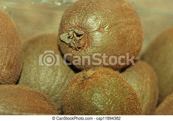 Kiwi fruits - csp11894382