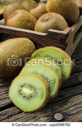 Kiwi fruits - csp40988762