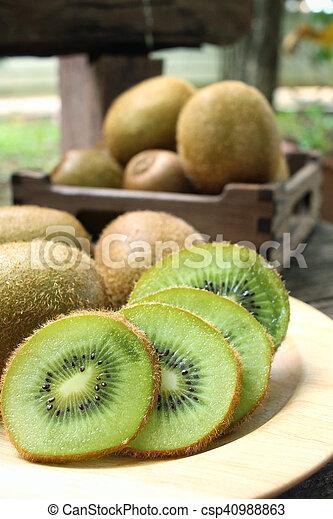 Kiwi fruits - csp40988863