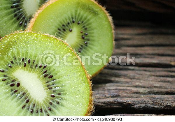 Kiwi fruits - csp40988793