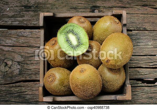 Kiwi fruits - csp40988738