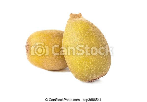 kiwi, gouden, fruit, twee - csp3686541