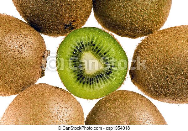 kiwi, gruppe - csp1354018