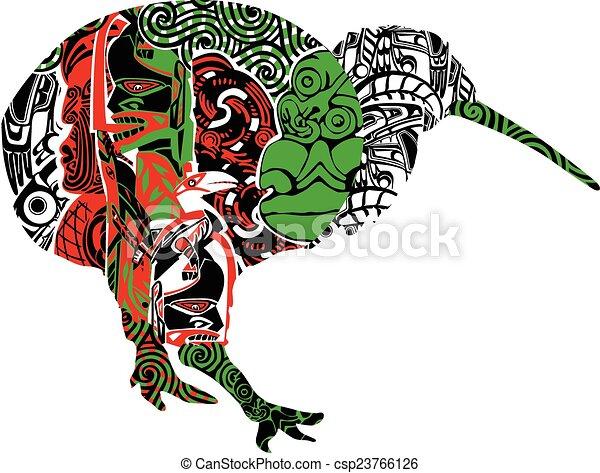 kiwi, motifs - csp23766126
