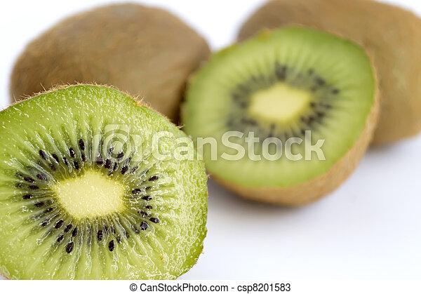 kiwi on white - csp8201583