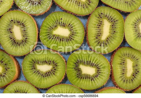 kiwi slice background - csp56686694