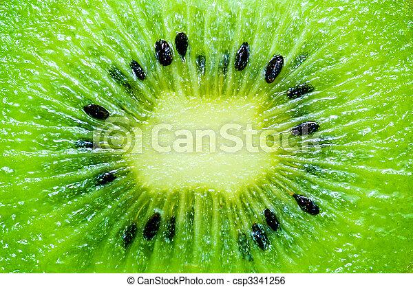 kiwi slice wallpaper - csp3341256