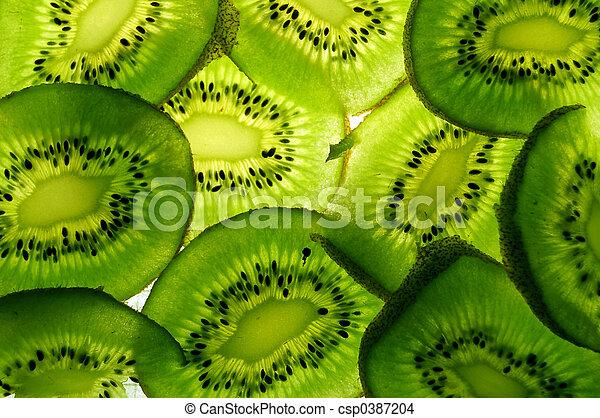 Kiwi slices - csp0387204