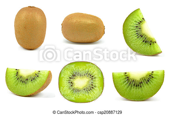 kiwi slices - csp20887129