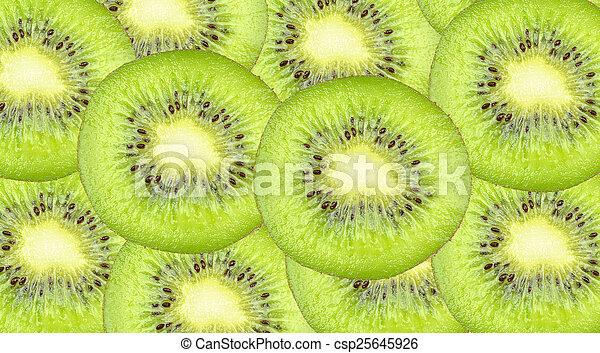 kiwi slices - csp25645926