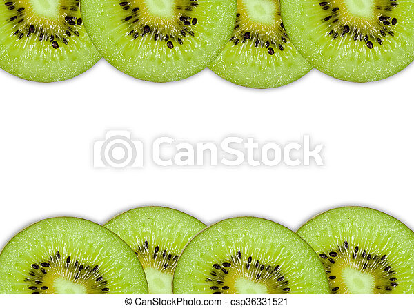 Kiwi slices - csp36331521