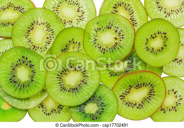 Kiwi slices - csp17702491