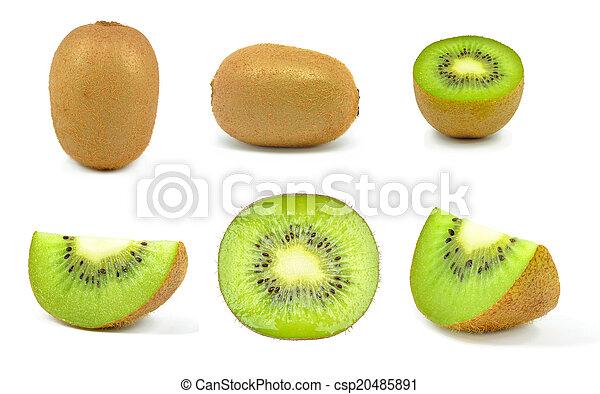 kiwi slices - csp20485891