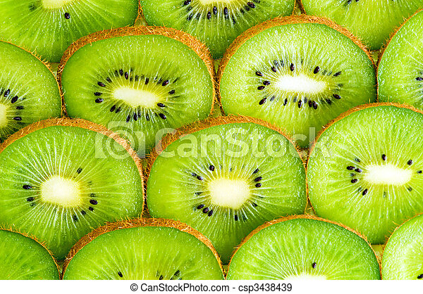 kiwi slices - csp3438439