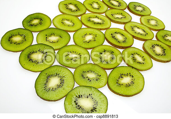 kiwi slices - csp8891813