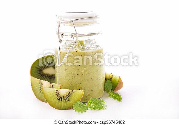 kiwi smoothie - csp36745482