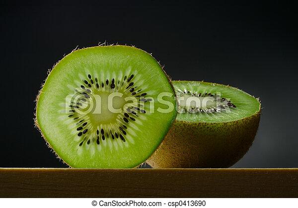 kiwi, vie, encore, fruit - csp0413690