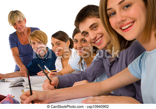 klasa, nastolatki - csp10940902