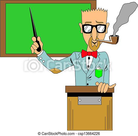 klasa, nauczyciel - csp13664226
