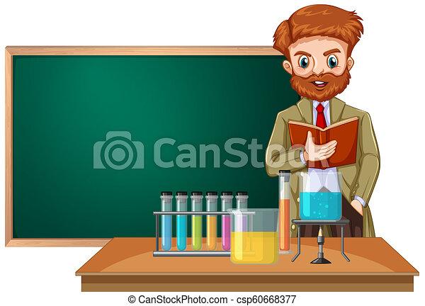 klasa, nauczyciel nauki - csp60668377