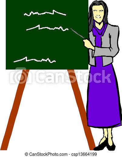 klasa, nauczyciel - csp13664199