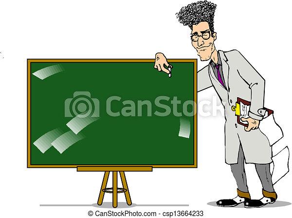 klasa, nauczyciel - csp13664233