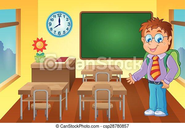 klasa, uczeń - csp28780857
