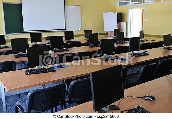 klassenzimmer, edv - csp2245800