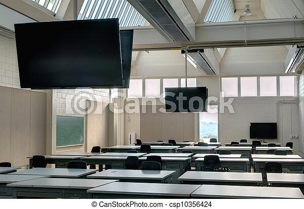 klassenzimmer, modern - csp10356424