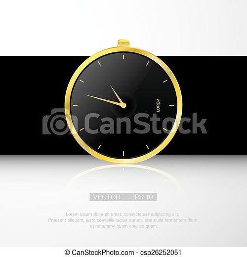 Uhr Modern klassisch gold uhr modern uhr schwarz