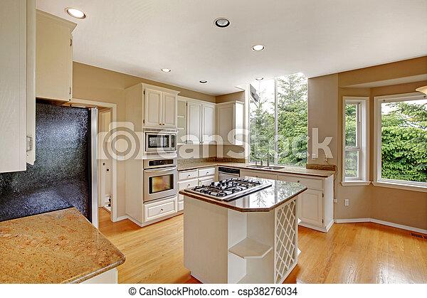 klassisch insel bankschalter top amerikanische granit inneneinrichtung klein wei es. Black Bedroom Furniture Sets. Home Design Ideas