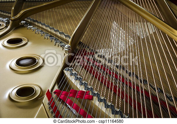 klavier, akkord - csp11164580